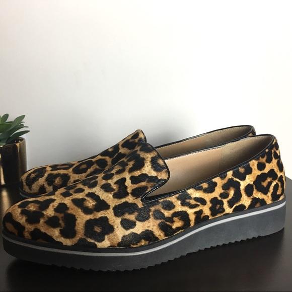 914f602edeb Franco Sarto Shoes - Franco Sarto Fabrina Leopard Calf Hair Loafers